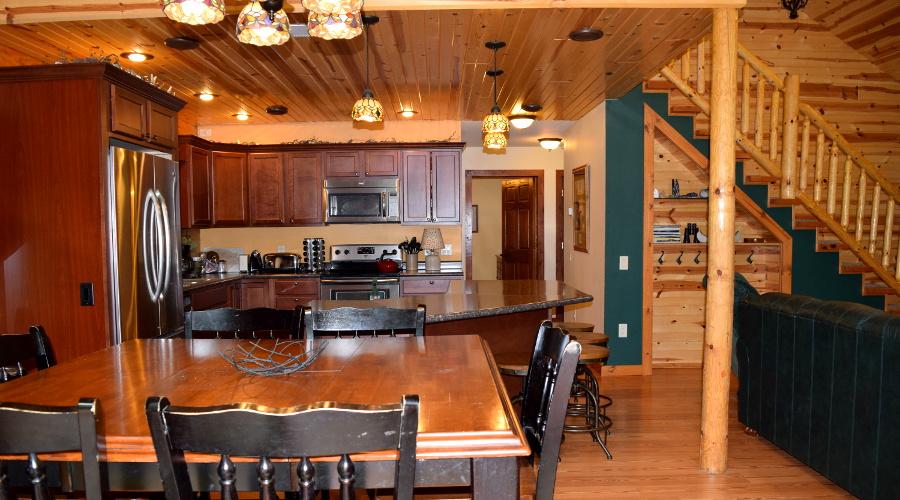 Thunderbird Log Home